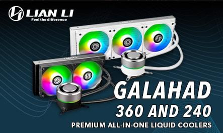 Lian Li GALAHAD 240 and 360