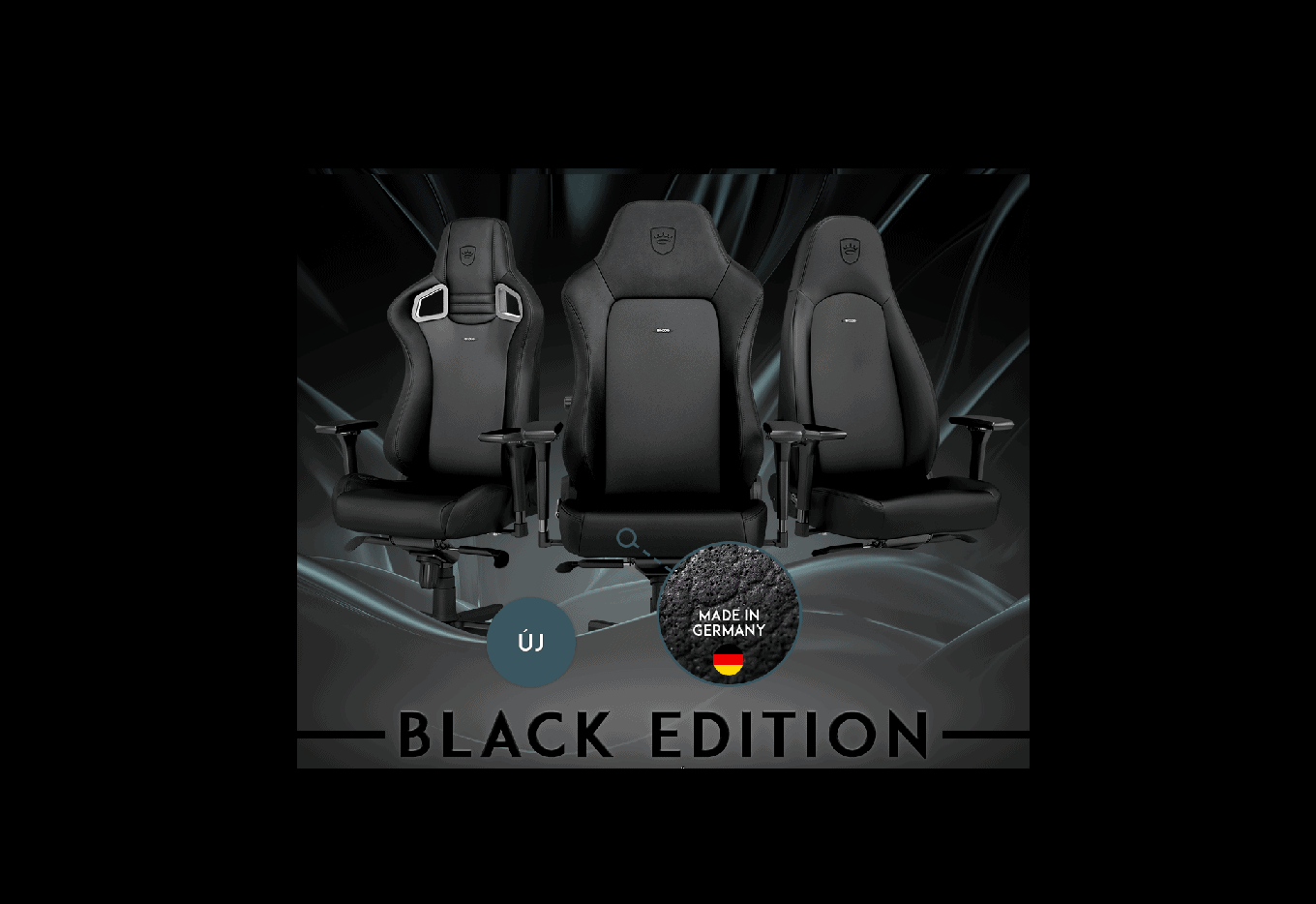 noblechairs Black Edition!