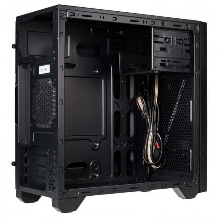 Számítógépház Kolink Inspire K2 RGB mATX Edzett üveg Fekete