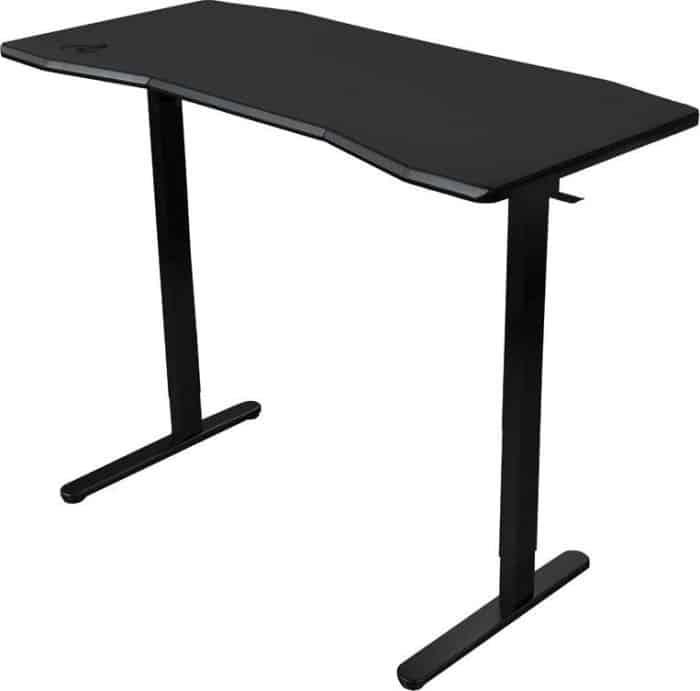 Gamer asztal Nitro Concepts D16M 1600 x 800 mm Carbon Black