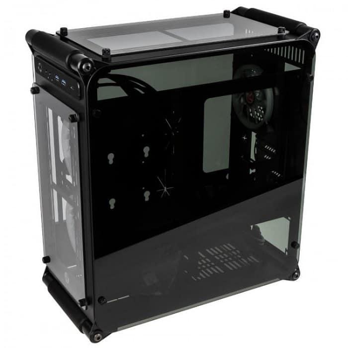Számítógépház RAIJINTEK Coeus Elite TC mATX Fekete Edzett Üveg