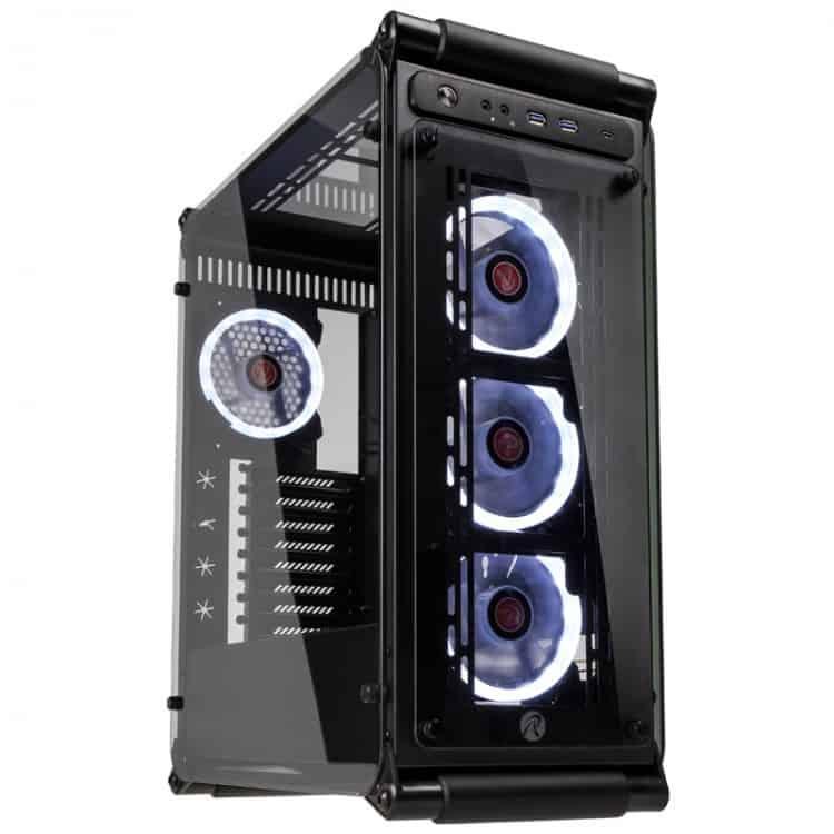 Számítógépház RAIJINTEK Coeus EVO TC ATX Fekete Edzett Üveg