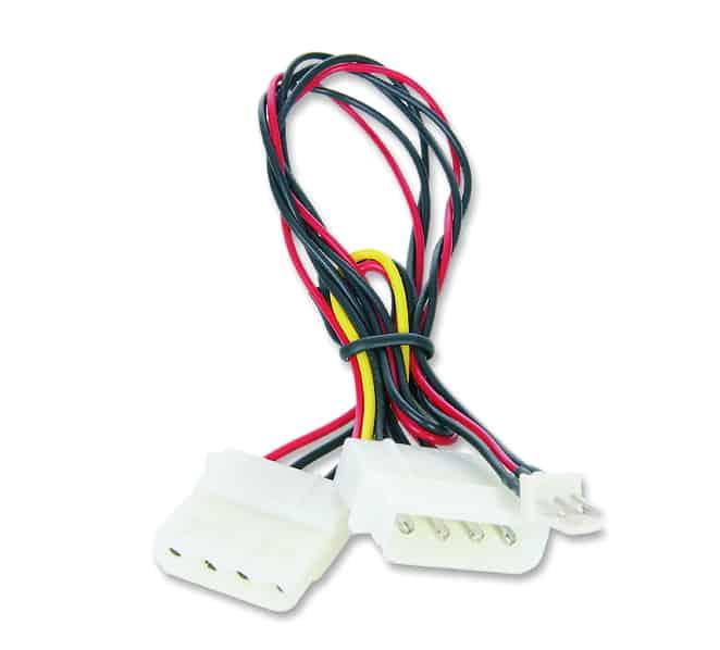 Kábel Hűtő Kolink 3-Pin (Male) - Molex (Male/Female)