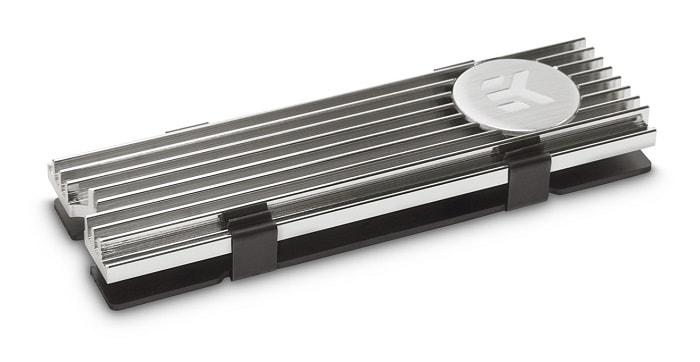SSD hűtő EK Water Blocks EK-M.2 NVMe hűtőborda Nickel