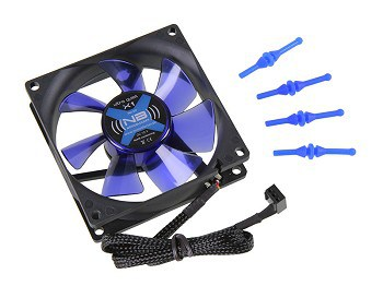 Ventilátor Noiseblocker BlackSilent Fan X1 8cm