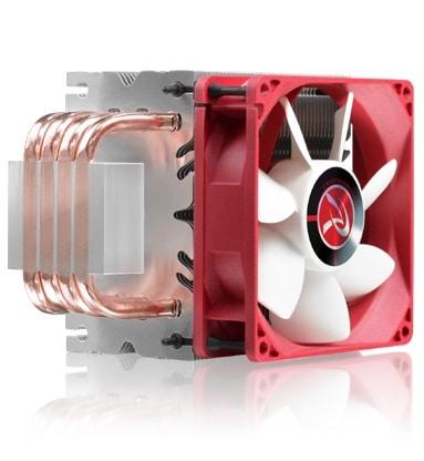 Processzor hűtő RAIJINTEK Aidos Black PWM 9cm