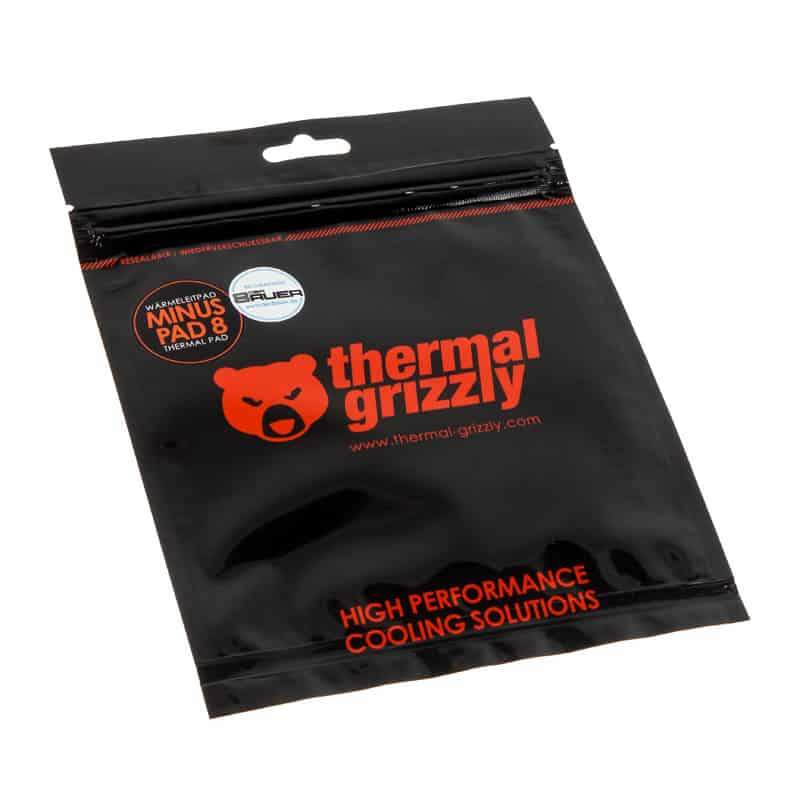 Hővezető lap Thermal Grizzly Minus Pad 8 120 x 20 x 0.5 mm x2