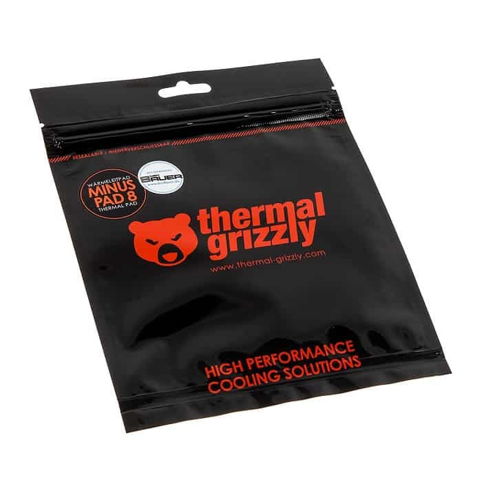 Hővezető lap Thermal Grizzly Minus Pad 8 120 x 20 x 3 mm