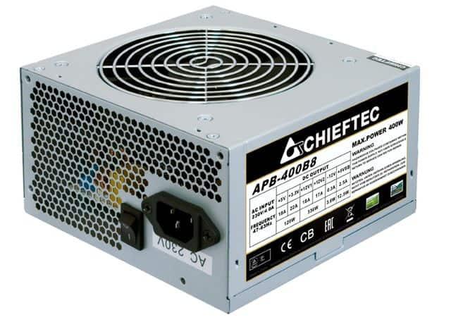 Tápegység Chieftec VALUE 400W 12cm ATX OEM