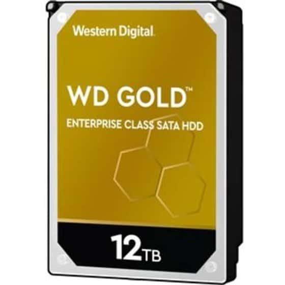 HDD SATA WD 12TB 3.5 7200 256M 24x7 Gold