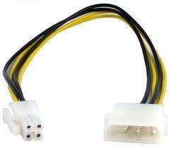 Kábel Táp Átalakító Kolink Molex (Male) - 4-Pin CPU (Female)