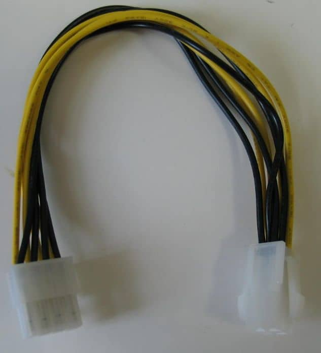 Kábel Táp Átalakító Kolink 4-Pin CPU (Male) - 8-Pin CPU (Female)
