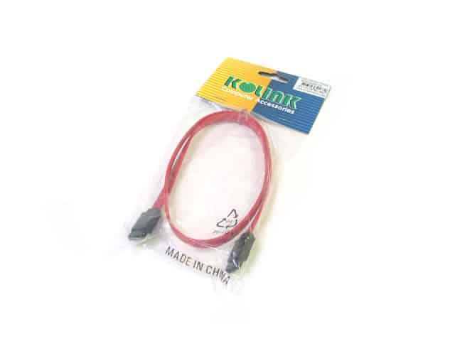 Kábel SATA Összekötő Kolink 50cm Piros