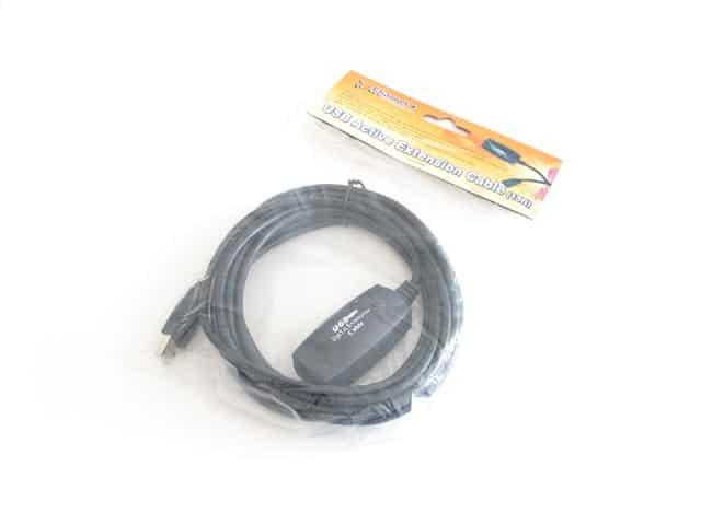 Kábel USB Hosszabbító Value USB 2.0 A (Female) - A (Male) 5m Erősítővel