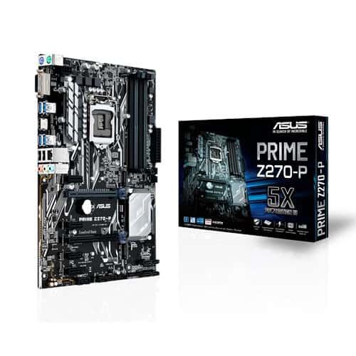 Alaplap ASUS Prime Z270-P ATX S1151 DDR4