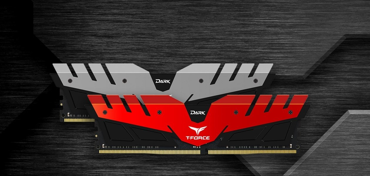 RAM DDR4 16GB (2x8) 3200MHz Teamgroup T-FORCE Dark Grey HS