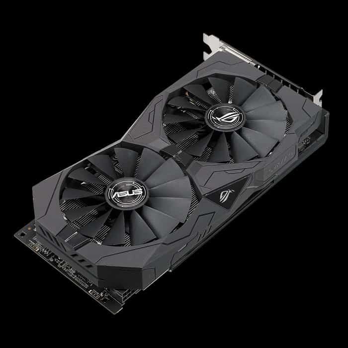 Videókártya ASUS Radeon RX 570 4GB DDR5 ROG STRIX O4G Gaming