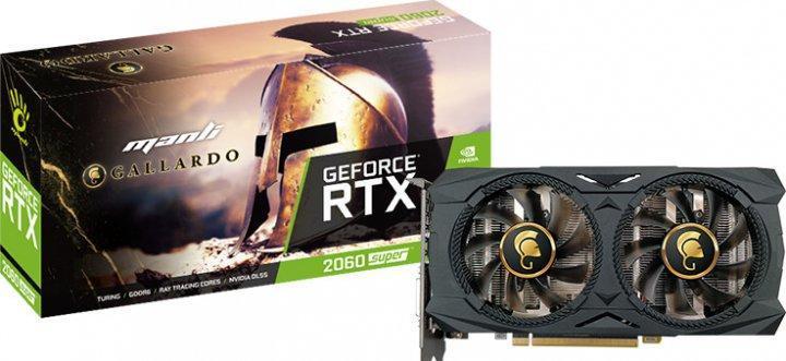 Videókártya MANLI GeForce GTX 1660 Super 6GB GDDR6 Gallardo