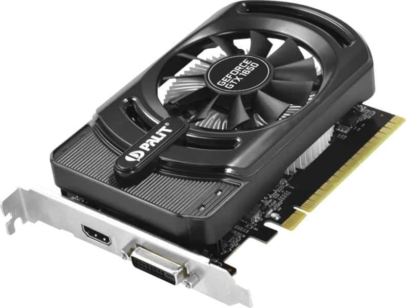 Videókártya Palit GeForce GTX 1650 4GB GDDR5 StormX