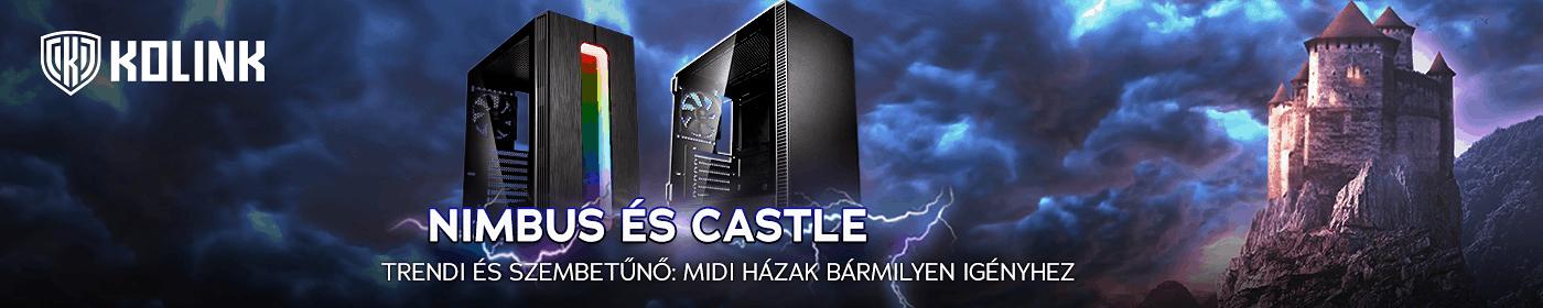 Kolink Nimbus és Castle